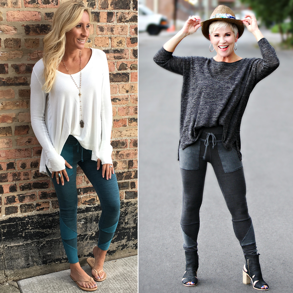 Athleisure From Lindsay And Me Chic Over 50